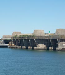 Brittany / Morbihan - Former Submarine Base - Lorient
